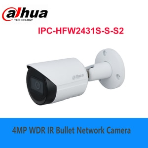 Dahua original 4MP Lite IR Fixed-focal Bullet Network Camera IPC-HFW2431S-S-S2