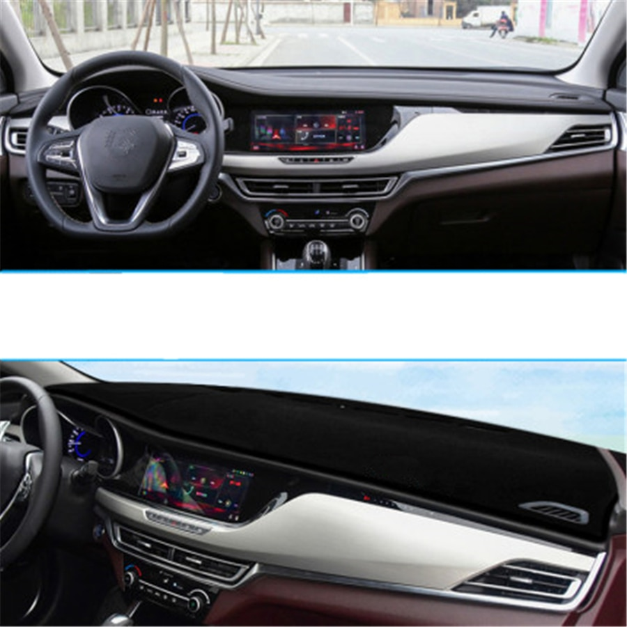 SJ Non-Slip Car Inner Auto Dashboard Cover Dashmat Pad Sun Shade Dash Board Cover Fit For CHANGAN CS35 Plus 2018 2019