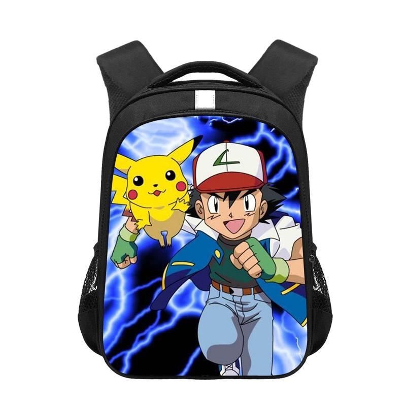 ¡Oferta! Para niños de pokemon mochilas, mochilas de dibujos animados Pikachu Arceus Mew Charizard, mochilas de guardería para niñas, niños, mochilas escolares, bolsa de libro para niños