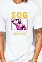 2019 nouveau Yoel Romero Sog I Luh Ju haut célèbre Logo hommes T-Shirt taille S-3Xl Streetwear T-Shirt