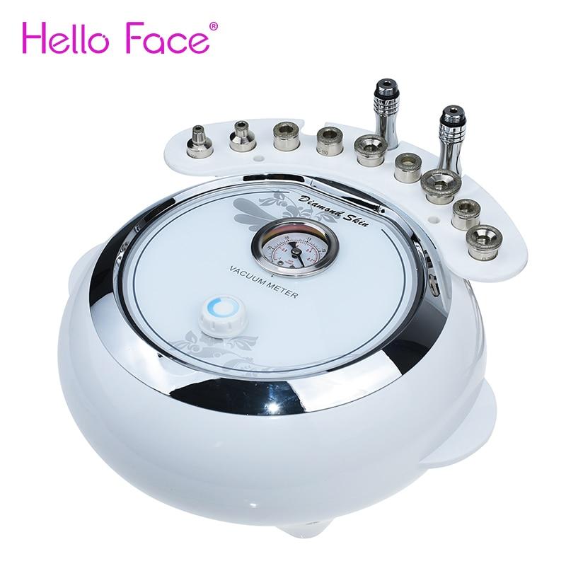 3 في 1 المهنية الماس اللوازم الطبية جهاز تقشير الجلد فراغ رذاذ العلاج تقشير جهاز صالون الوجه
