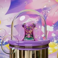 blind box toy nicole protects nature blind bag caja ciega toy cartoon character female model birthday gift mystery box fairycore