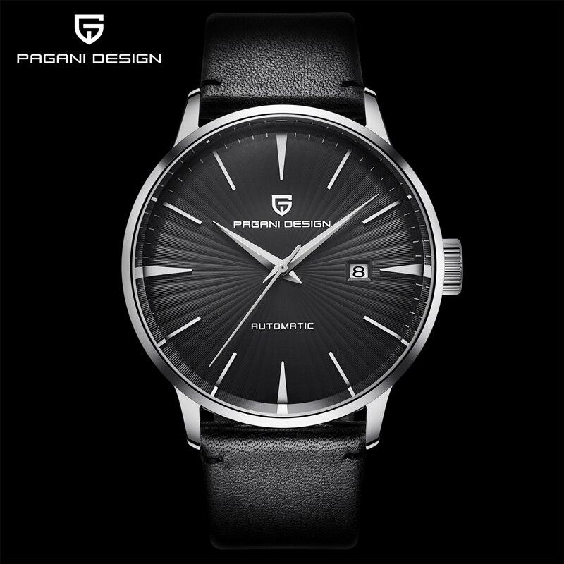PAGANI DESIGN Men's Watches Luxury Automatic Watch Men Business Mechanical Watch For Men Waterproof Clock Man reloj hombre 2021