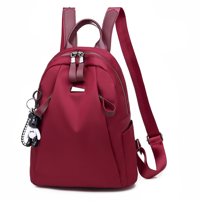 Casual Women Backpack for School Style Bag For College Simple Design Rucksack Women Casual Daypacks