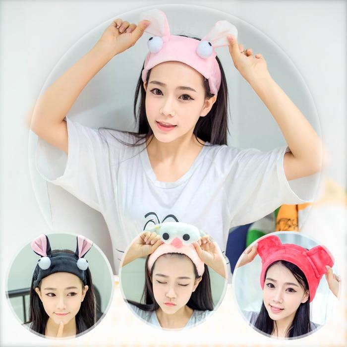Cute Super Cute South Korea Sweet Face Wash Hair Band Headband Wide Brim Head Accessories Simple Hea