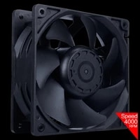 12cm high speed large air volume 12v two ball bearing computer btc mining machine case cabinet server 120mm cooling fan system