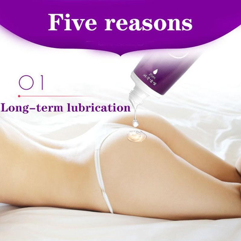 25ML Water Based Lubricant for Sex Anal Sex Transprant Lubricant Oral Sex Gel Exciter for Women Orga
