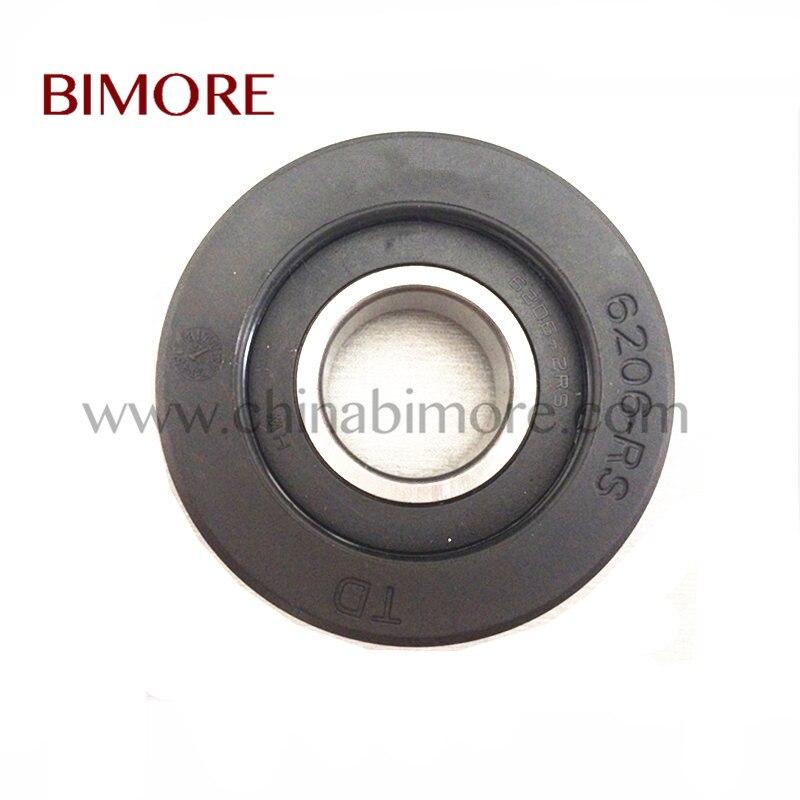 50 штук упак. BIMORE OTRL043 эскалатор шаг ролика TD OD80mm толщина 25 мм подшипник 6206-RS