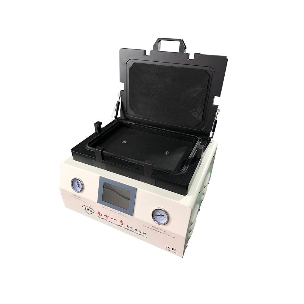 TBK 808 12 inch LCD Automatic Bubble Removing Machine and OCA Vacuum Laminating Machine auto lock curved screen repair