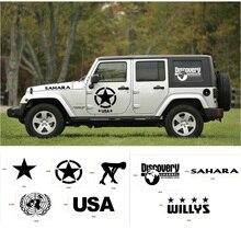 Оригинальная наклейка MOPAI для всего кузова автомобиля, наклейка s для Jeep Wrangler/для Ford/KIA/Volkswagen/Аксессуары для автомобилей suzuki