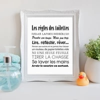 modern french toilet rules canvas painting bathroom toilet wall art posters and prints modern picture home decor bathroom mural