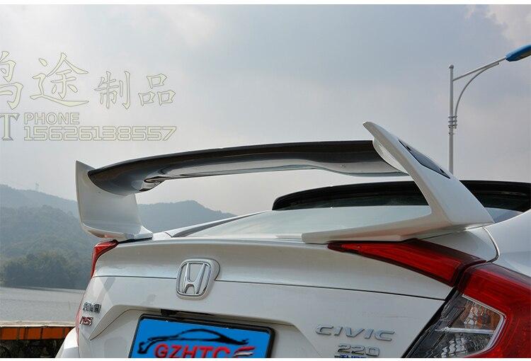 Fit for HONDA CIVIC 10 gen Type R  carbon fiber  wing spoiler