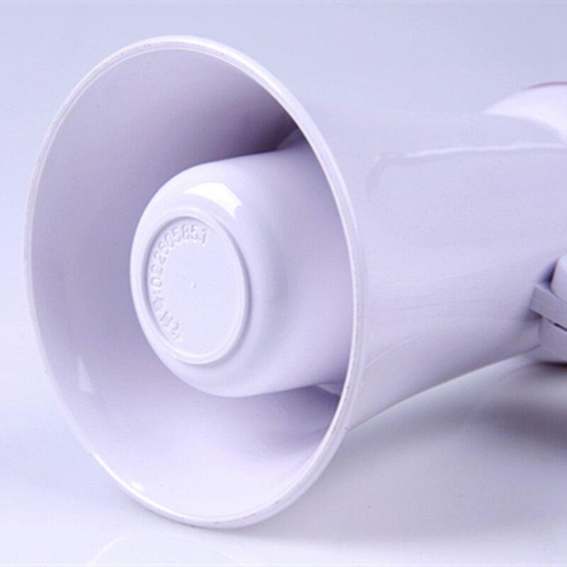 Portable Foldable Handheld Megaphone Loudspeaker Amplifier Recorder Megaphone Pk Microphone Speaker School Supplies Teacher Use enlarge