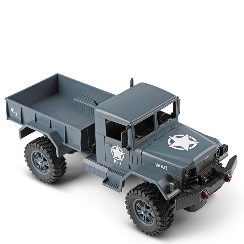 124301 1:12 Electric Remote Control High Speed Four-wheel Drive Military Truck 2.4ghz Interactive Remote Control Child Model Toy enlarge