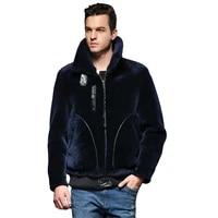 real quality guaranteed sheepskin fur coat genuine leather male formal thick winter clothing sheepskin jacket men fur outwear