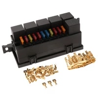 car 11 way fuse holder relay box with terminals relays waterproof connectors