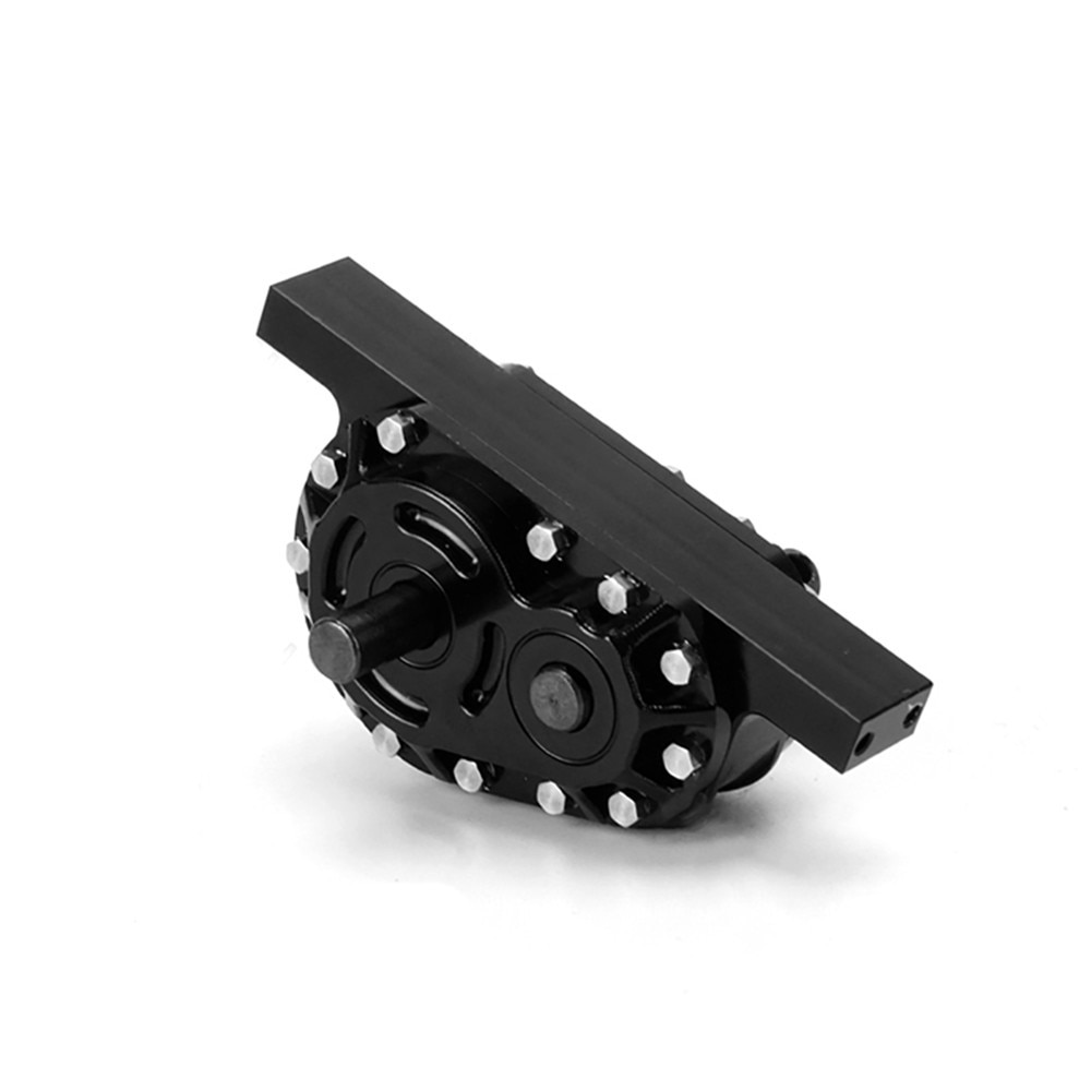 Reduction Gear Ratio 1:2 Gearbox Transfer Case Aluminum Alloy For Tamiya 1/14 Tractor Dumping Truck Modify Parts enlarge