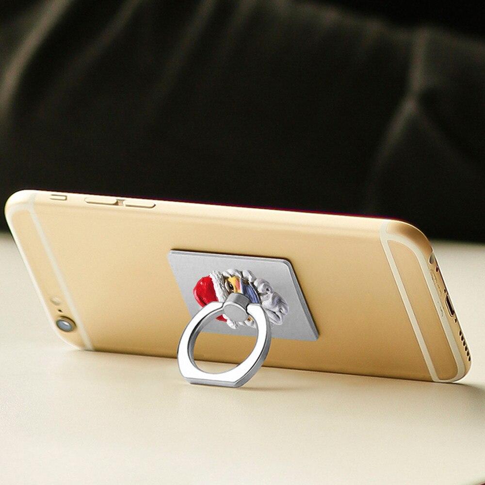 Soporte plegable para móvil ajustable portátil Universal soporte de dedo soporte de...