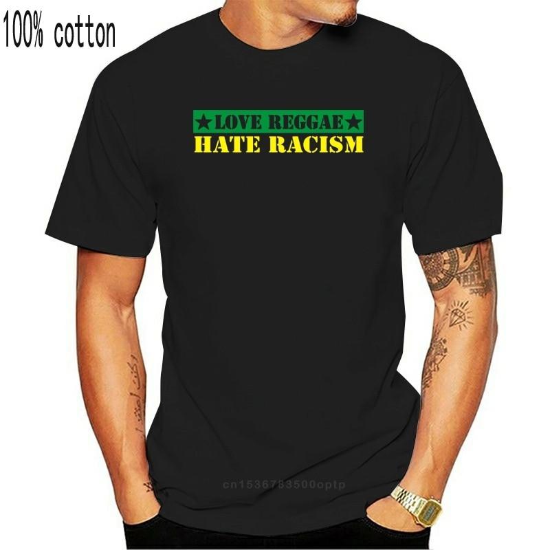 Liebe REGGAE T-Shirt Größe S - 4xl Jamaika Bob Rasta Eine Liebe Ska hass racism