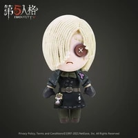 game identity v cosplay plushies grave keeper plush doll toys andrew kreiss diy change suit dress up mascot anime plushie gift