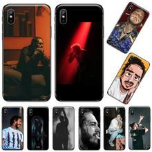 post malone singer Luxury Unique Design Phone Cover For iphone 5 5s 5c se 6 6s 7 8 plus x xs xr 11 pro max