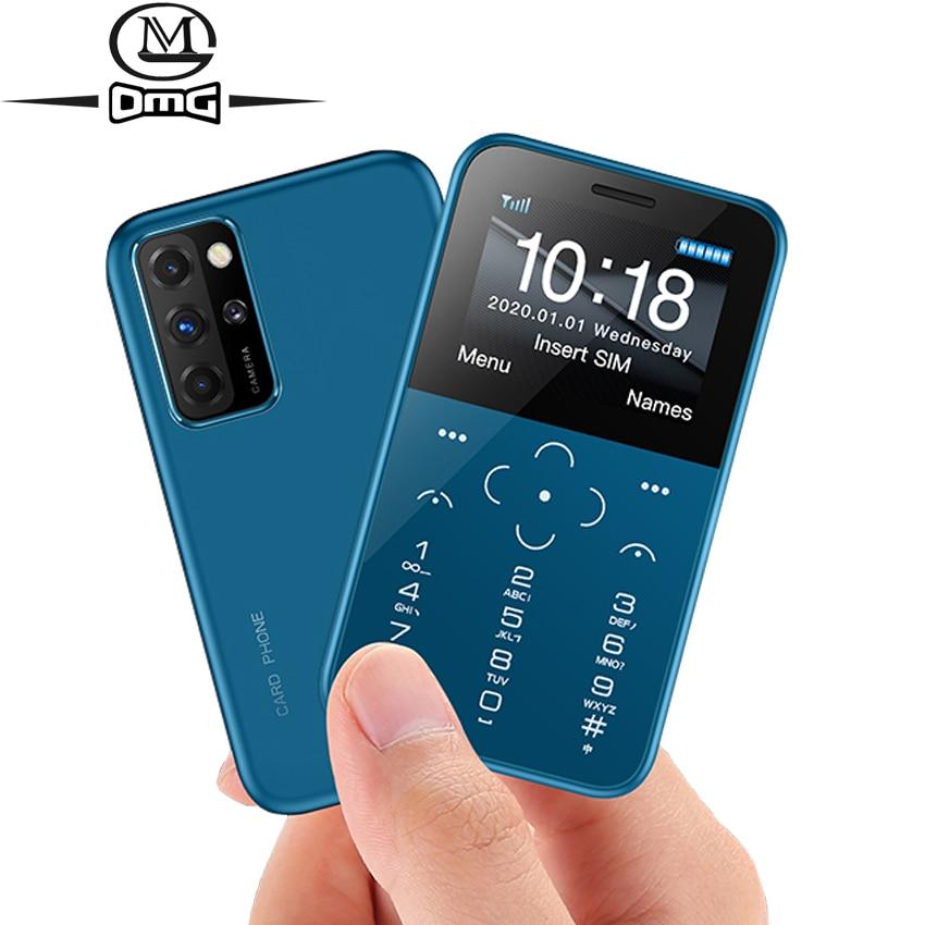 Small Mini mobile phones GSM single sim new unlocked cheap cell phone push button telephone Single camera