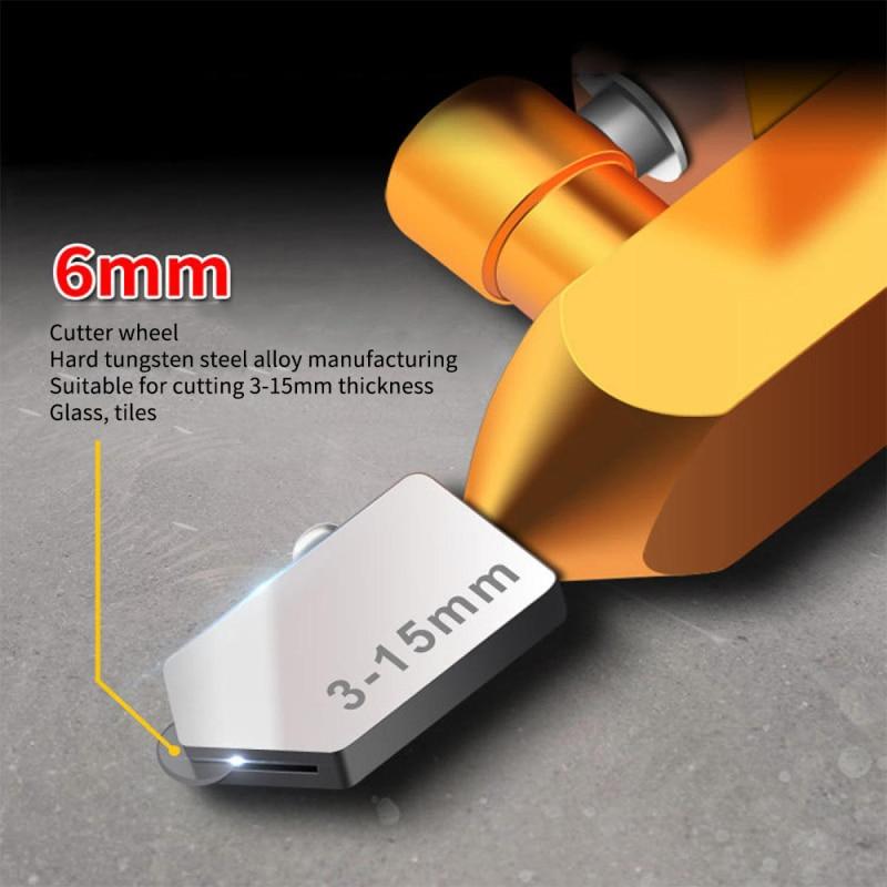 Tagliavetro per piastrelle in lega, tagliapiastrelle manuale e - Strumenti di costruzione - Fotografia 5