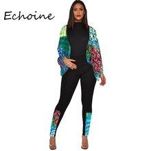 2020 Spring Casual 2 Piece Set Women Lantern Sleeve Leopard Print Women Clothes Jogging Femme Plus Size 2xl Outfits