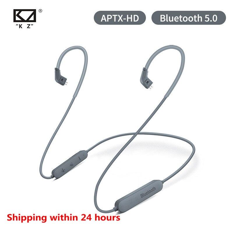 Auricular KZ 5,0 Bluetooth Aptx HD CSR8675 módulo Cable de actualización de auriculares aplica auriculares originales KZ AS10 ZST ES4 ZSN ZS10 Pro