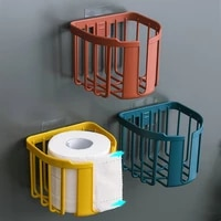multifunctional punch free toilet paper rack toilet tissue box wall mounted toilet toilet paper holder roll paper box