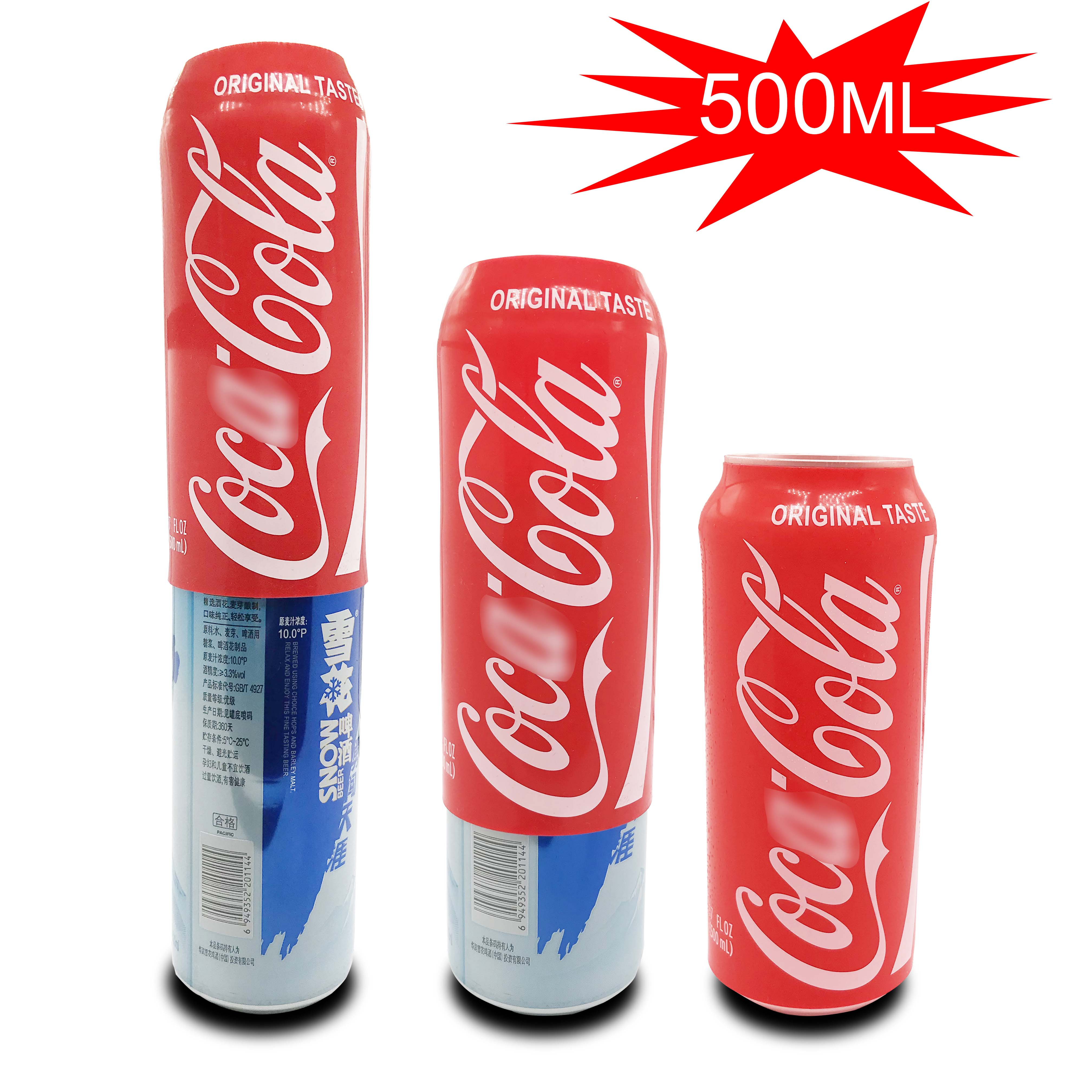 500ml hide a beer Beer Can Cover Cola Beer Bottle Cup Cover Sleeve Case Can Bottle Holder Thermal Ba