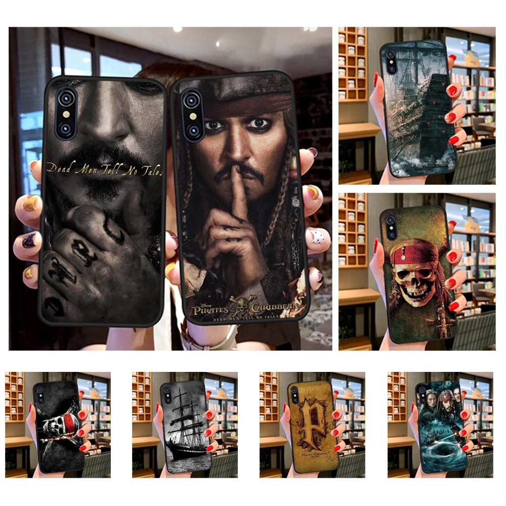 NBDRUICAI, funda de teléfono de Piratas del Caribe, Depp para iPhone 11 pro XS MAX 8 7 6 6S Plus X 5S SE XR