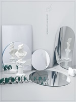 Отражающее зеркало для фотосъемки, реквизит для съемки с перевернутым изображением, ювелирные изделия, косметика, инструменты для макияжа