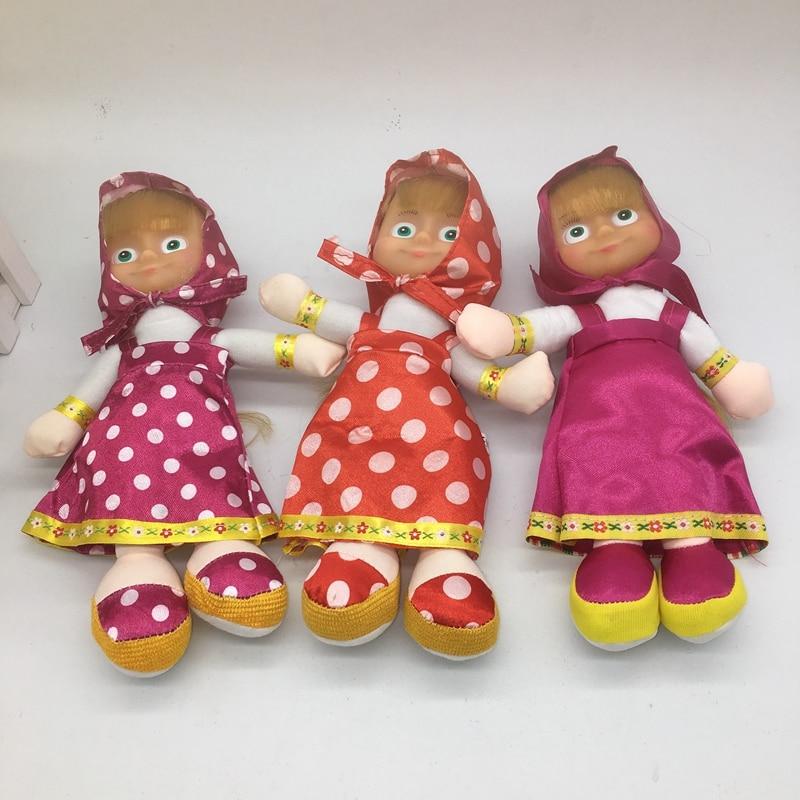 Muñeca de peluche masha princesa rusa sin música