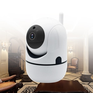WiFi Home Security With Camera 1080P HD Video Baby Sleeping Nanny Cam Two Way Audio Night Vision Home Security Babyphone Camera