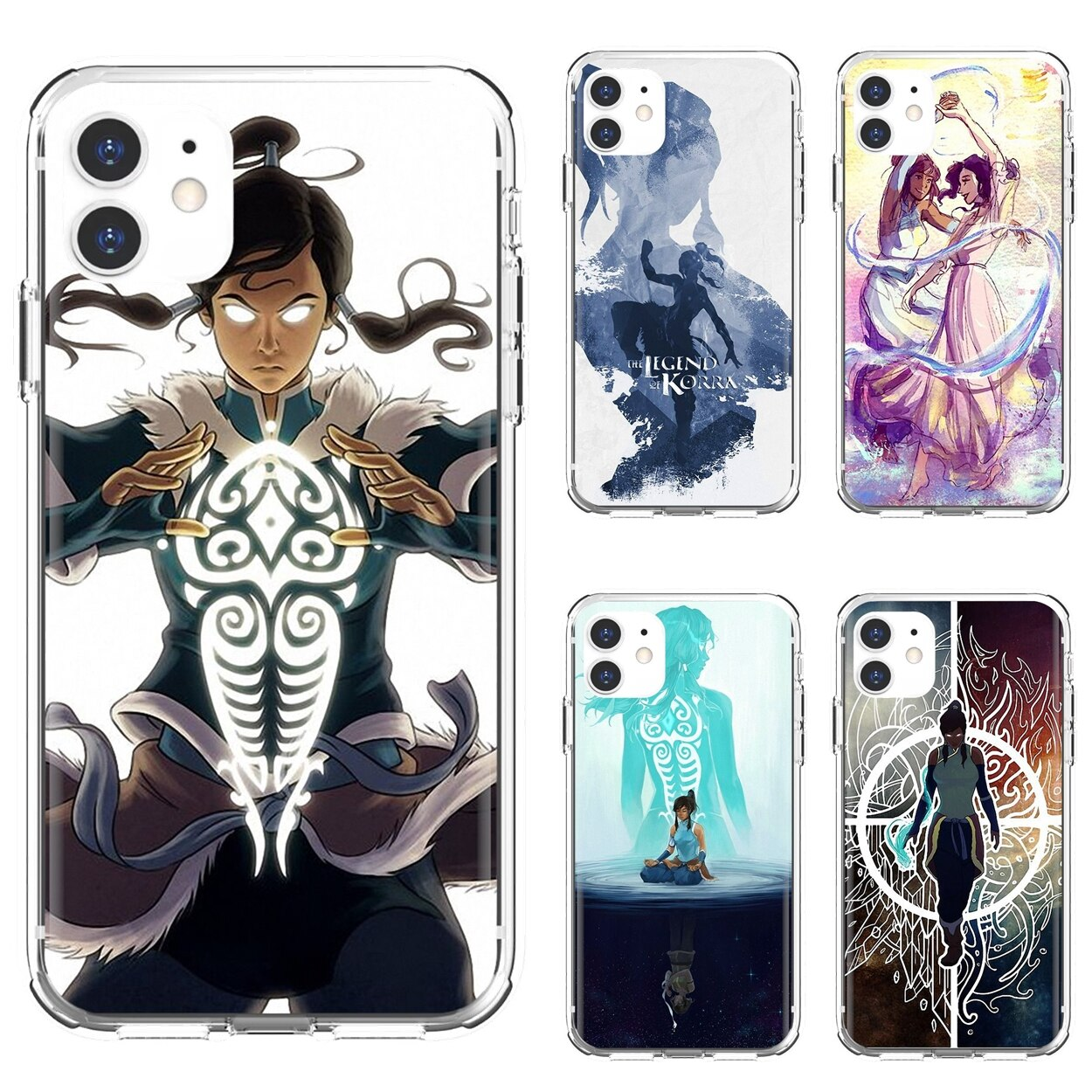 Silicone Shell Case Avatar-The-Legend-Of-Korra-Anime For Xiaomi Redmi 2 S2 3 3S 4 4A 5 5A 5 6 6A 7A