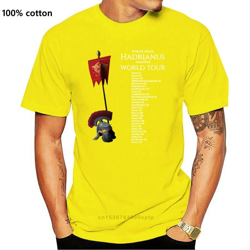 New Men t-shirt Gaius Julius Caesar World Tour tshirt Women t shirt