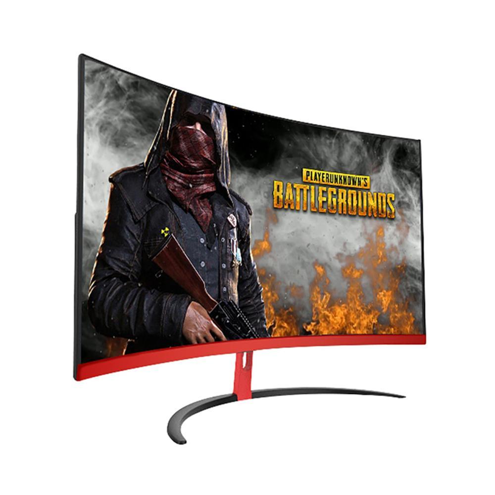 Wearson 1800R 32 дюйма изогнутый широкий экран ЖК-дисплей игровой монитор Flexural панель 2 мм боковая Безель-Без HDMI VGA вход мерцание бесплатно