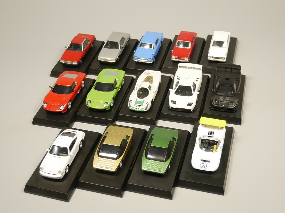 Kyosho 1:64 skala Diecast modell auto Legierung auto modell