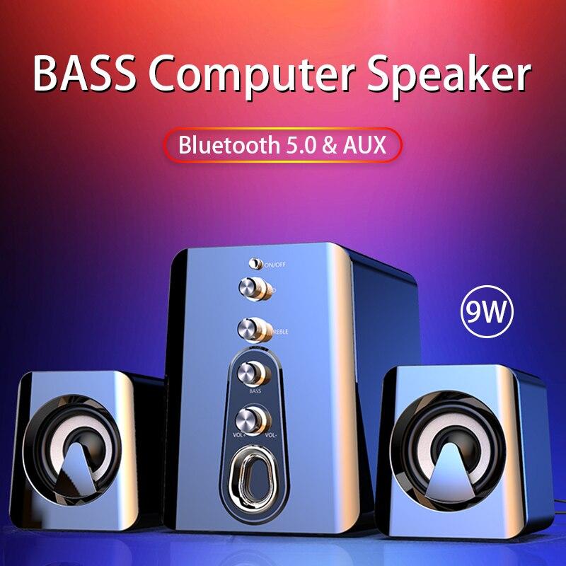 Altavoz Bluetooth Para cine en casa, dispositivo De sonido Para PC y...