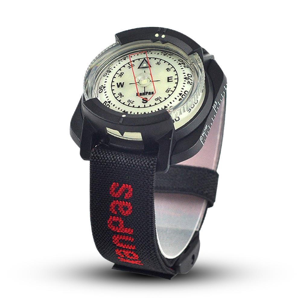 Al aire libre brújula profesional de buceo brújula impermeable Navigator reloj Digital de brújula para nadar bajo el agua