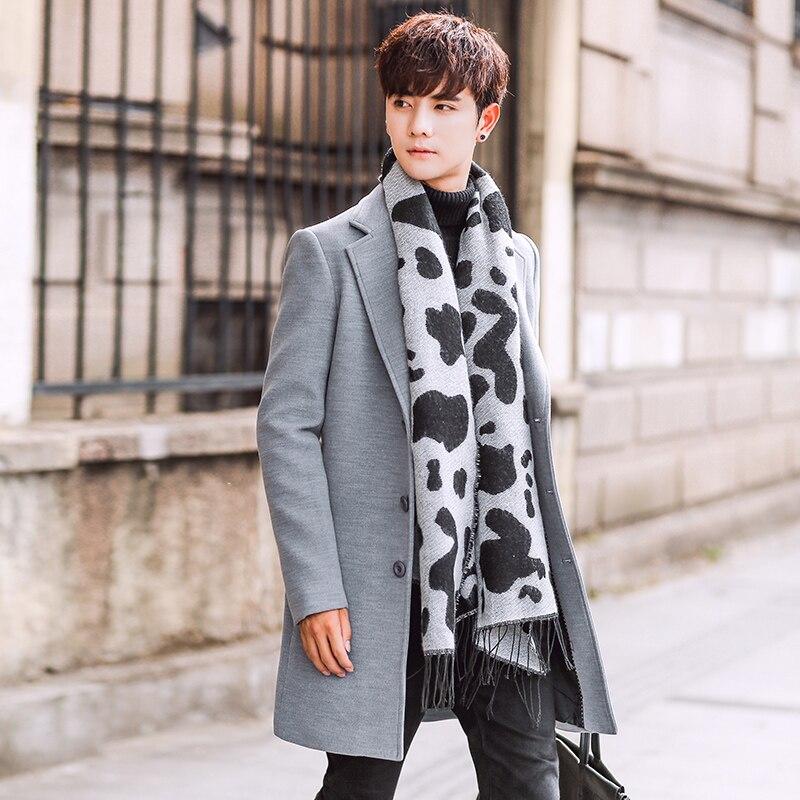 Качественная мужская формальная одежда, Тренч, Длинные куртки, верхняя одежда, длинные пальто, модные мужские облегающие длинные куртки, Ра...