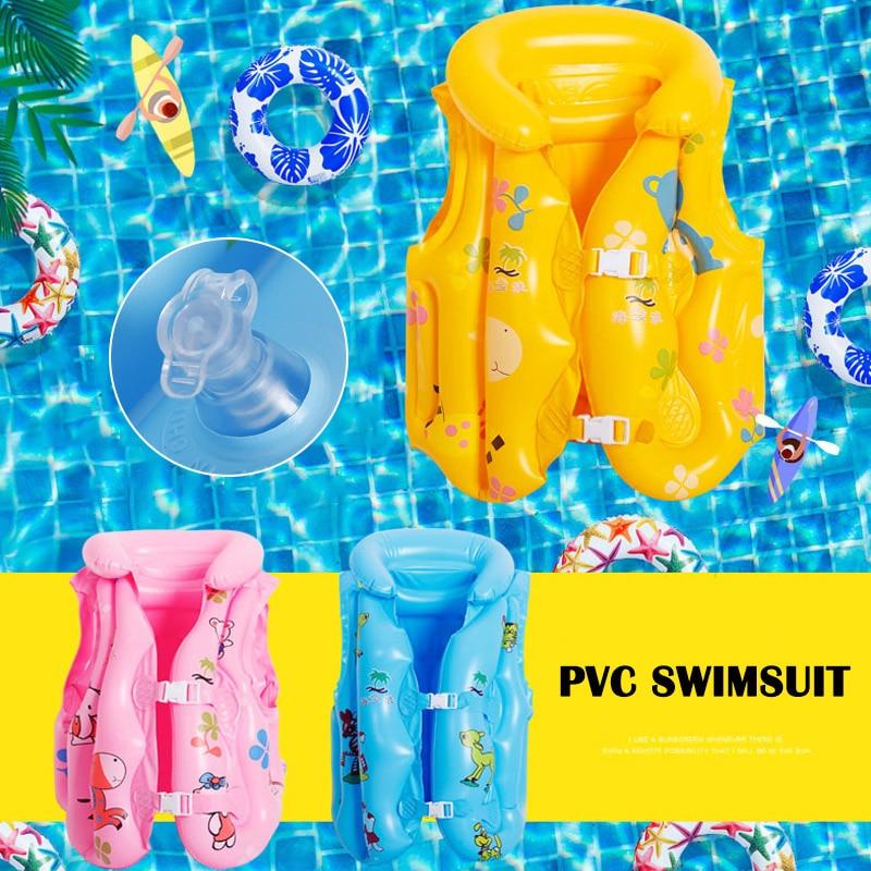Adjustable Life Vest Swimsuit Child Inflatable Pool Float Children Kids Babies Swimming Drifting boa