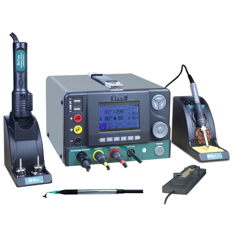 CXG DES H95 عالية التردد لحام محطة لحام كهربائي الحديد المهنية متعددة الوظائف آلة إصلاح الهاتف المحمول