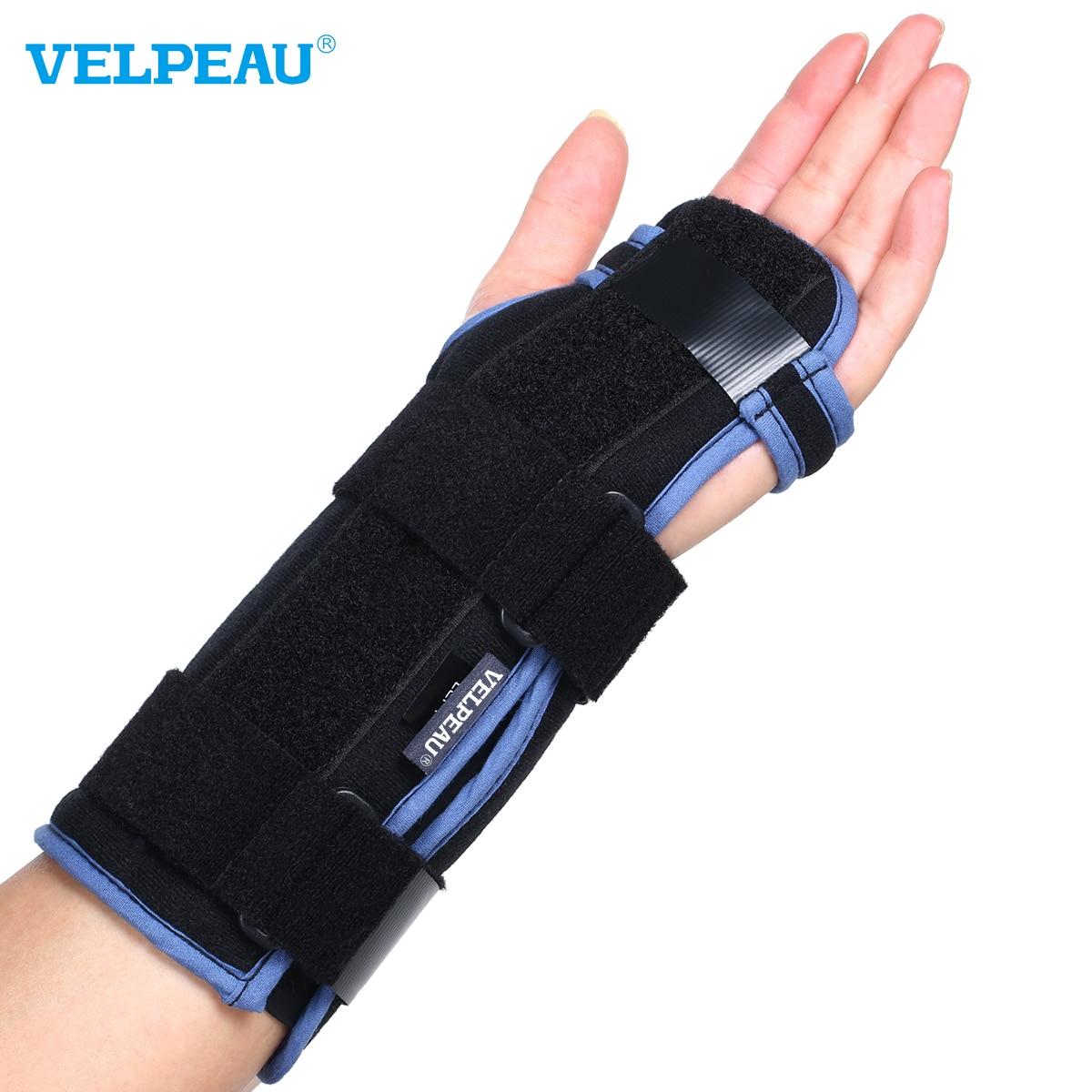 VELPEAU-전문 손목 보호대, 손목 염좌, 관절염, 골절, 골절 회복 사용, 석고 후 충전 없음
