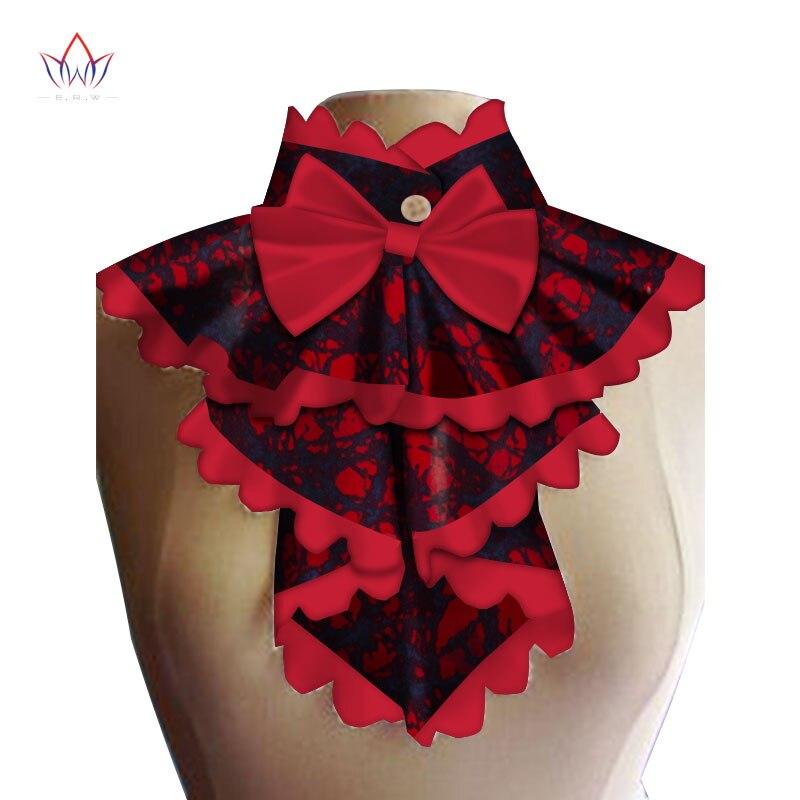 ¡Novedad de 2020! collares y lazos falsos africanos, collares y lazos desmontable colores vivos, accesorios de ropa para mujeres, 20 colores BRW WYb259