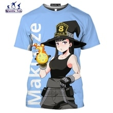 Mamba haut 3D impression Anime enen no shouboutai chemise hommes à manches courtes drôle Shinra Kusakabe hommes T-Shirt Cosplay combat T-Shirt de sport