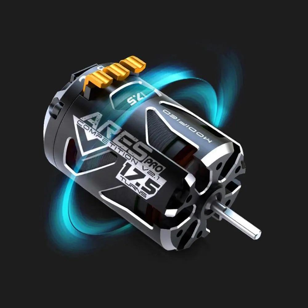 SKYRC 540 ARES PRO V2 Competition 2200KV 13.5T 17.5T 21.5T Race Sensored Brushless Motor Alloy Shiel