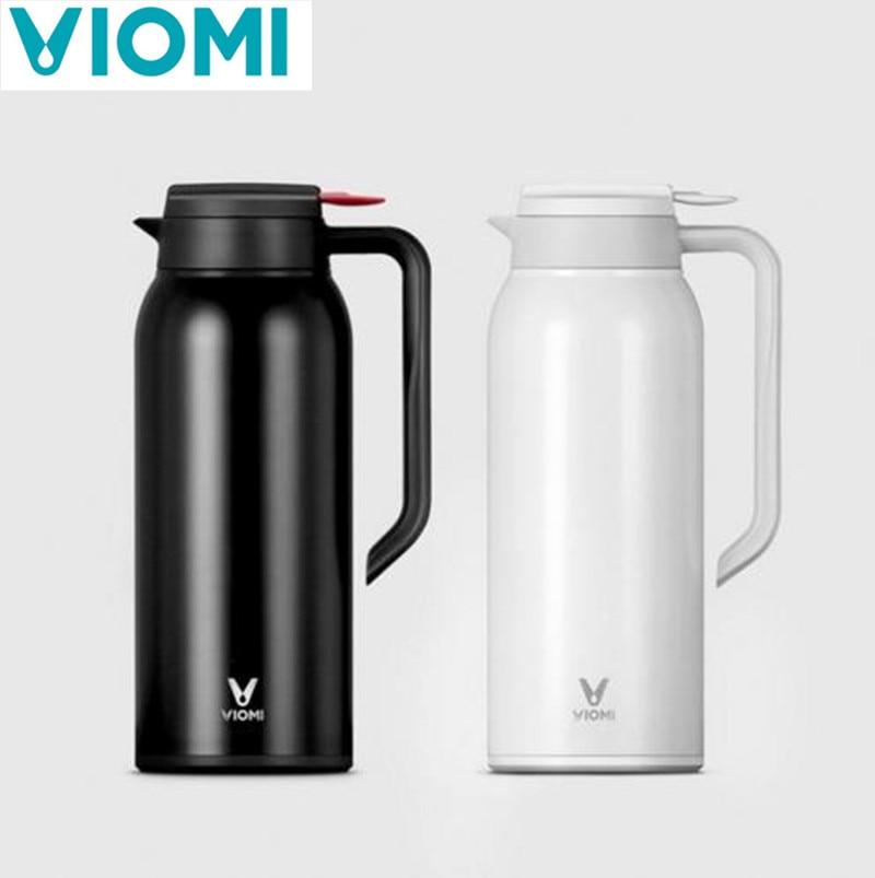 VIOMI 1,5 L hervidor termo tazas de acero inoxidable vacío 24 horas termo botella de agua inteligente termo de una sola gran capacidad taza de vacío