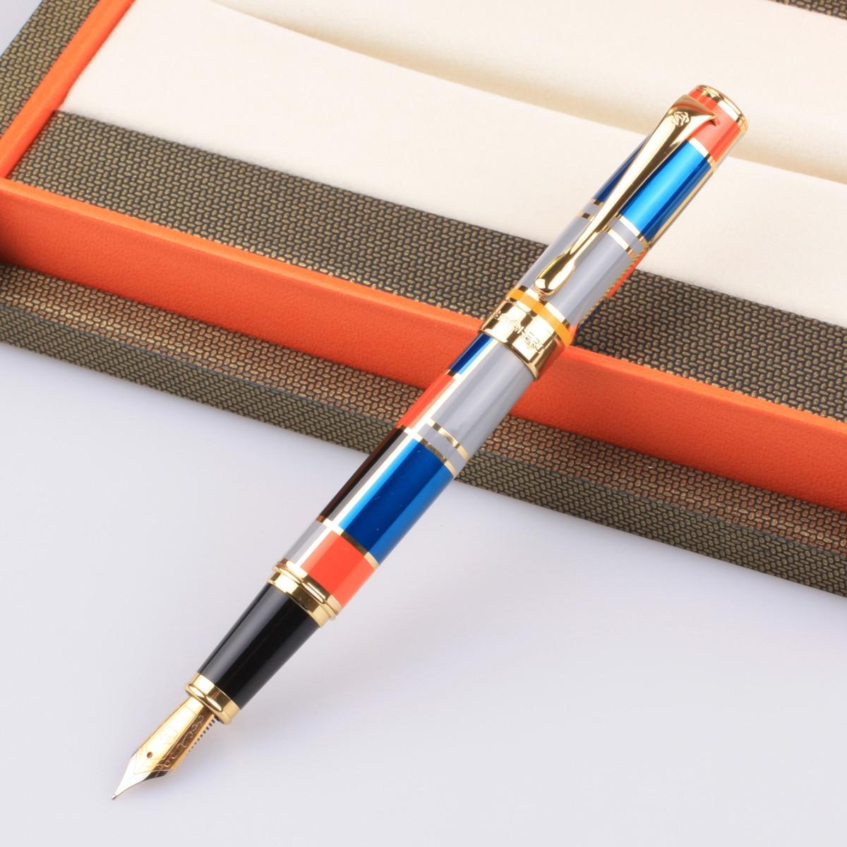 Héroe héroe genuino 767 Color Iridium pluma fuente héroe de héroe pluma de tinta de bolígrafo de regalo